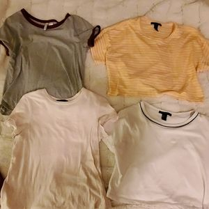 4 forever 21/ H&M tops